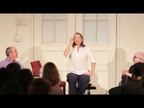 Actors Aloud 2015- Cherry Jones On Working With Directors