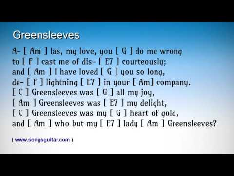 Greensleeves | Chords | Lyrics | Melody