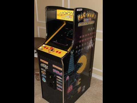 Namco PAC-MAN'S ARCADE PARTY Machine In Action!