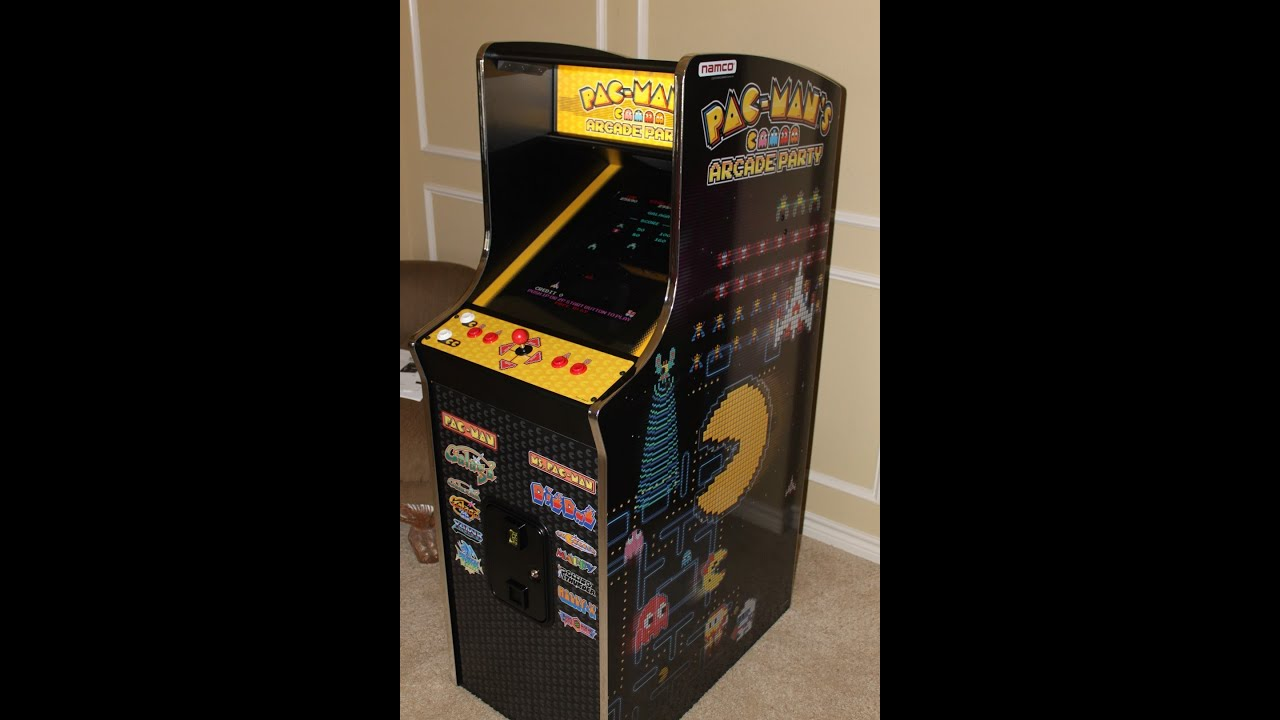 Pac Man Machine >> Namco PAC-MAN'S ARCADE PARTY Machine in action! - YouTube