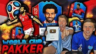 MIN FØRSTE PAKKÅPNING PÅ FIFA 18 WORLD CUP MODE!! 🏆🔥 BROREN MIN SKAFFER MEG 90 RANGERTE WALKOUTS!!