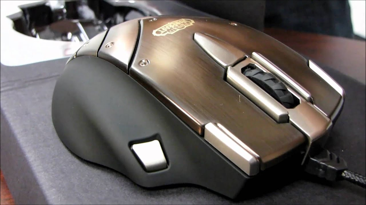 SteelSeries World Of Warcraft MMO Gaming Mouse Drivers Download