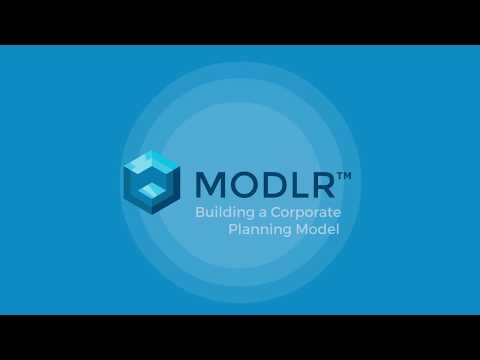 MODLR - Corporate Planning Tutorial - Part 1