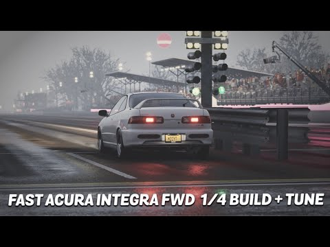 FORZA HORIZON 4 |FAST '01 ACURA INTEGRA FWD K20 ALL-MOTOR 1/4 BUILD
