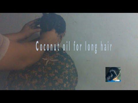 Coconut oil for long hair