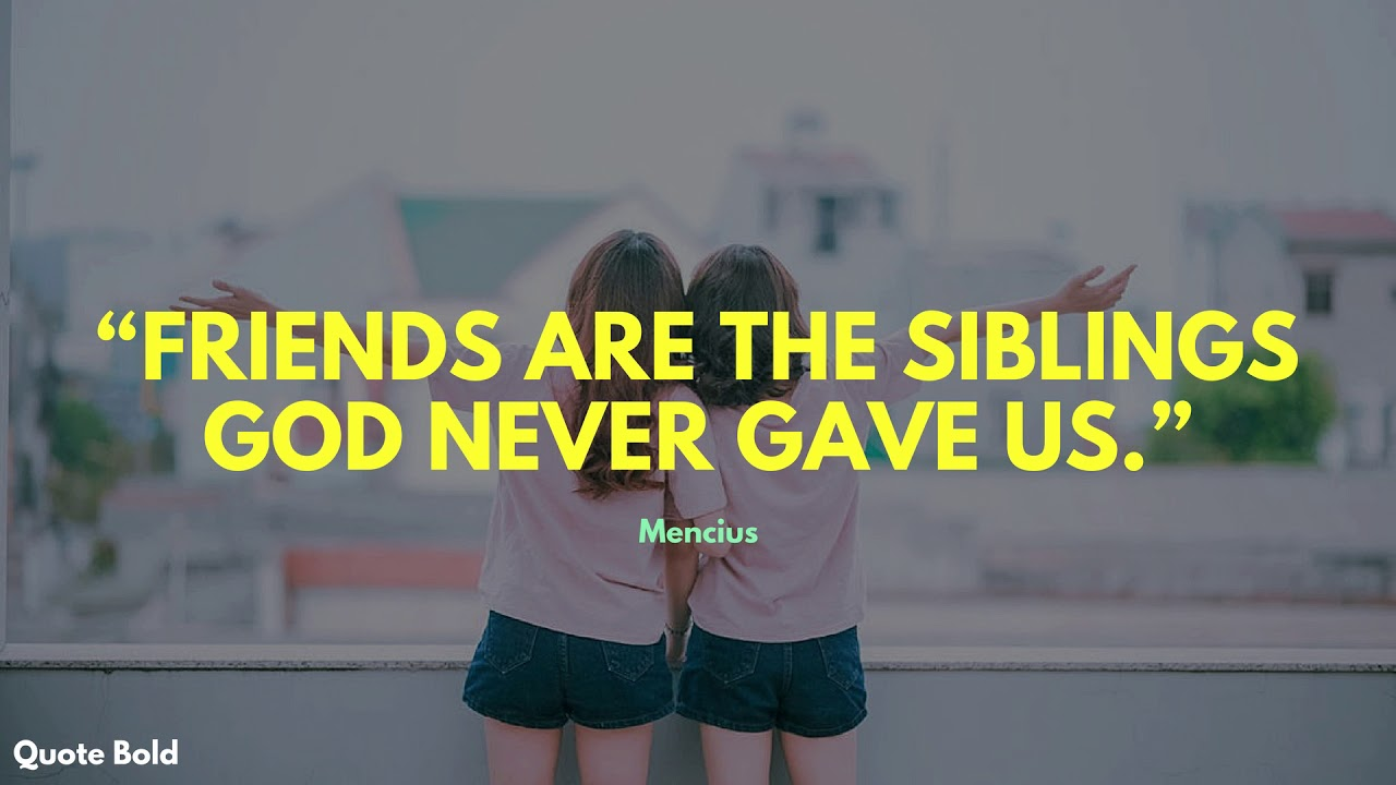 26 Short Friendship Quotes With Images Youtube