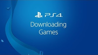 Downloading PS4 Games