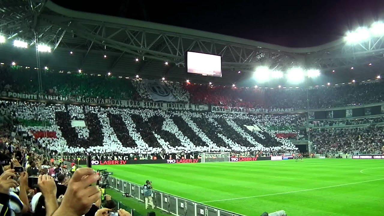 Real Madrid Wallpaper Hd Juventus Milan 2 0 Inno Juve Coreografia E Ingresso In