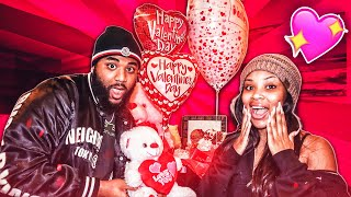 WE SURPRISED EACH OTHER FOR VALENTINES DAY!!!