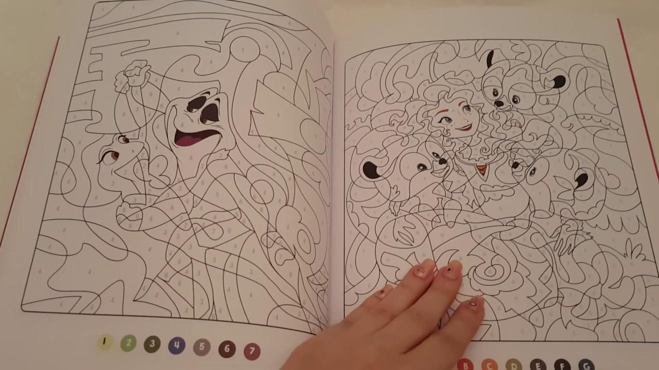 Les Ateliers: Disney Princesse: COLORIAGES MYSTERES