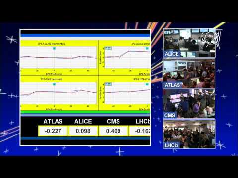 LHC First Physics : First collisions in the LHCb's experiment - March the 30th, 2010