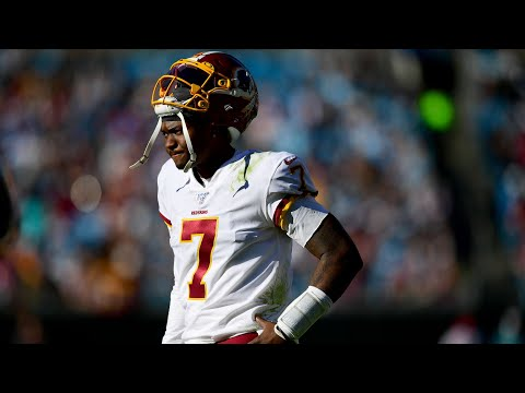 Dwayne Haskins Released From Washington Football Team - Haskins Must Grow Up To Succeed