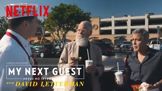 Burgers and Airplanes with George Clooney | My Next Guest Needs No Introduction | Netflix