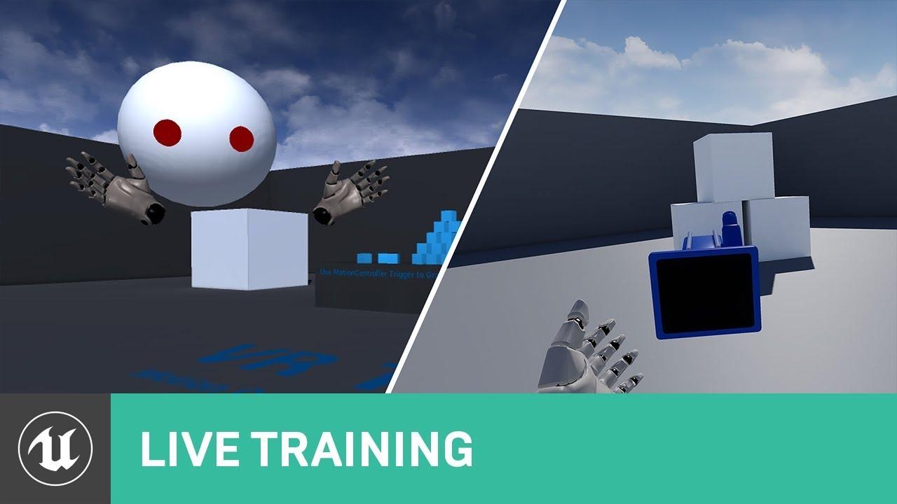Creating a VR spectator camera | Unreal Engine Livestream