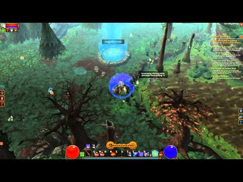 Torchlight 2 Tank Engineer Elite NG+5 Gameplay Act III