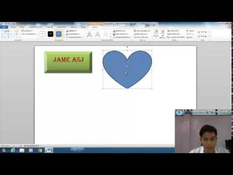สื่อการสอน Microsoft Word เรื่อง กรอบข้อความ