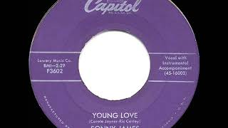 1957 HITS ARCHIVE: Young Love - Sonny James (a #1 record)