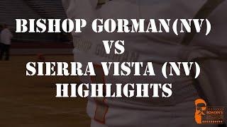 फुटबॉल - बिशप गोर्मन (NV) बनाम Sierra Vista (NV) पर प्रकाश डाला