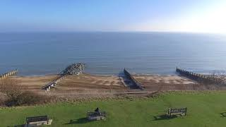 Felixstowe Drone Over Golf grounds