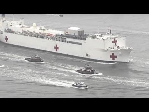فيديو: تحويل ناقلة نفط في الولايات المتحدة إلى مستشفى عائم لإنقاذ نيويورك  - نشر قبل 4 ساعة