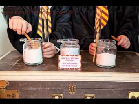 DIY Harry Potter Birthday Party Decorating Ideas YouTube