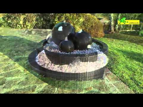 Installer une fontaine de jardin youtube - Fontaine decorative exterieure jardin ...