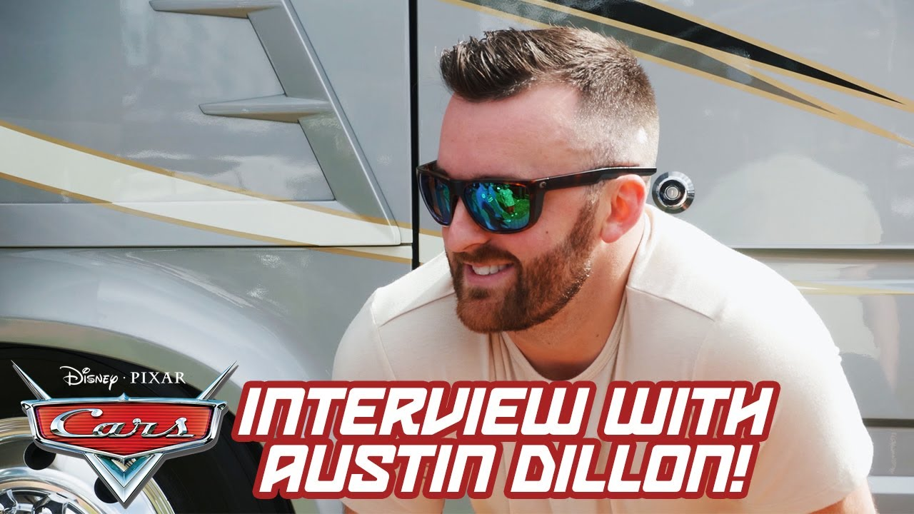 Chatting with Austin Dillon at the Daytona 500 | Pixar Cars