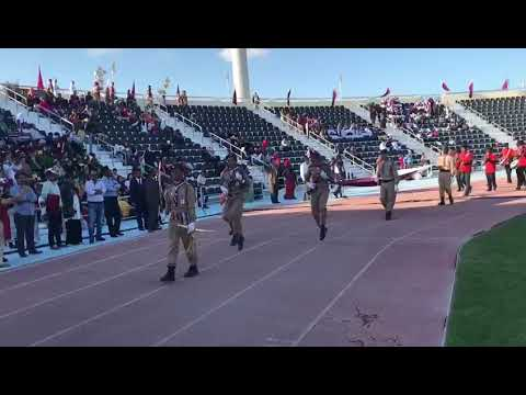 MES INDIAN SCHOOL 2K17 QATAR NATIONAL DAY PARADE