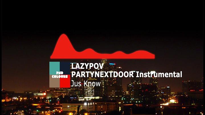 partynextdoor jus know instrumental feat travis scott