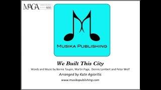 We Built This City - for Saxophone Quartet