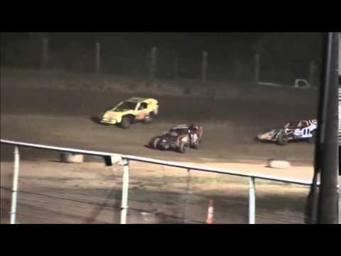 WOW! Wreck of the Week from Ohio Valley Speedway 9/6/14.