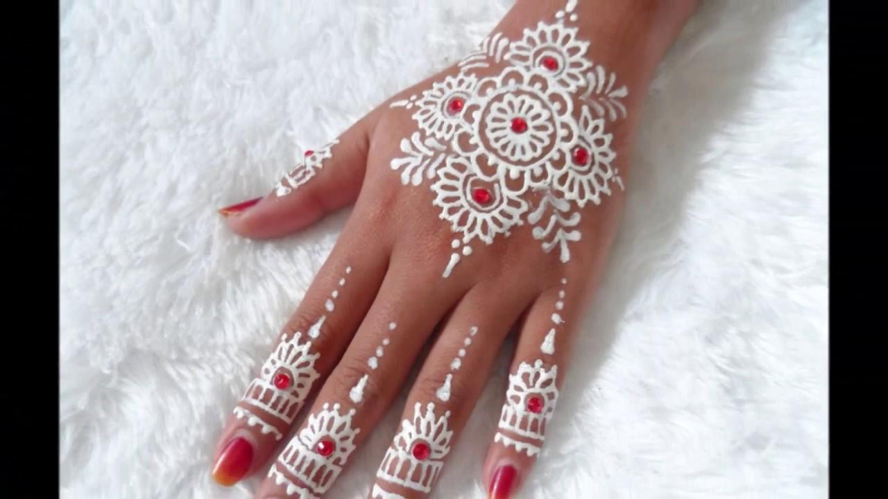 Tutorial Henna Henna Design With Gems 32 Youtube