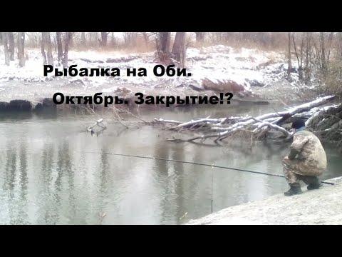 Рыбалка на Оби в Новосибирске. Октябрь.Закрытие сезона!?
