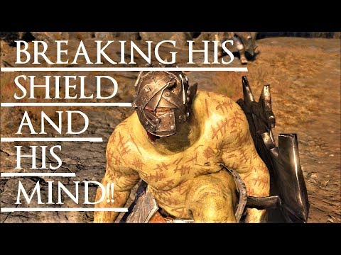 Shadow of War: Middle Earth™ Unique Orc Encounter & Quotes #93 THIS BROKEN-SHIELD & MIND ZSASZ URUK! |