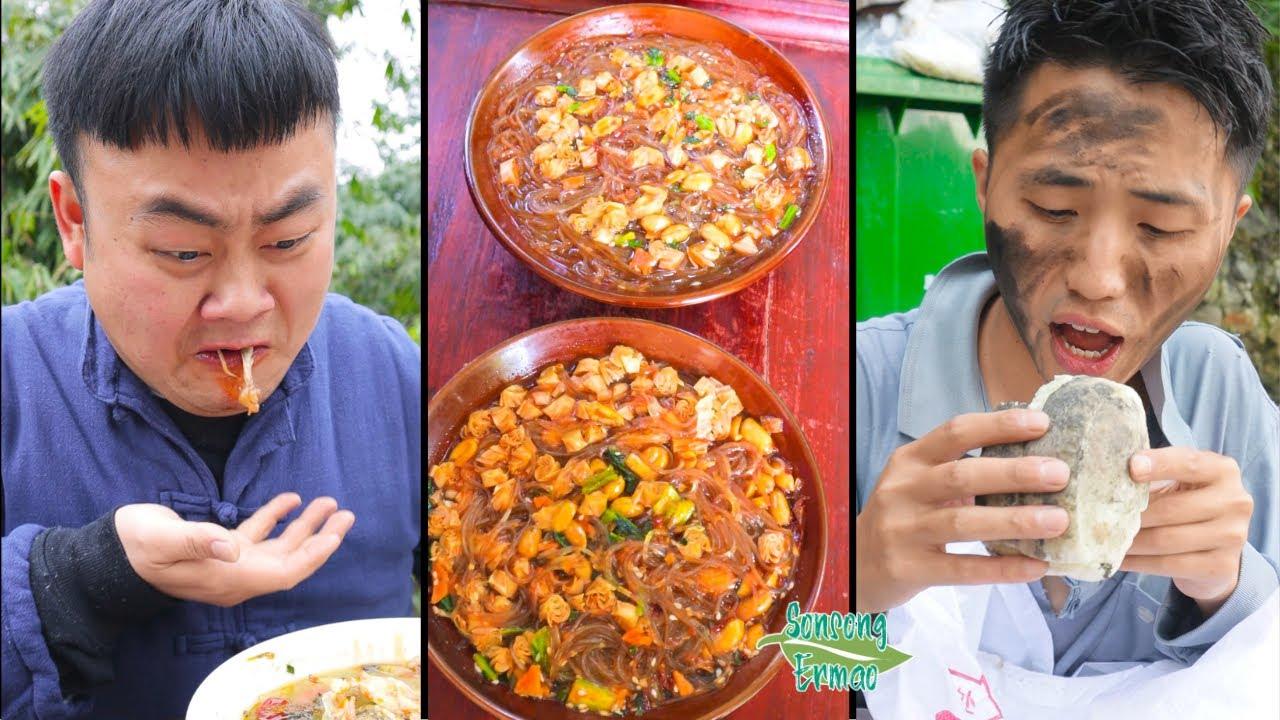 Food Pranks and Spicy Food Challenge! || TikTok Funny Mukbang || Songsong and Ermao