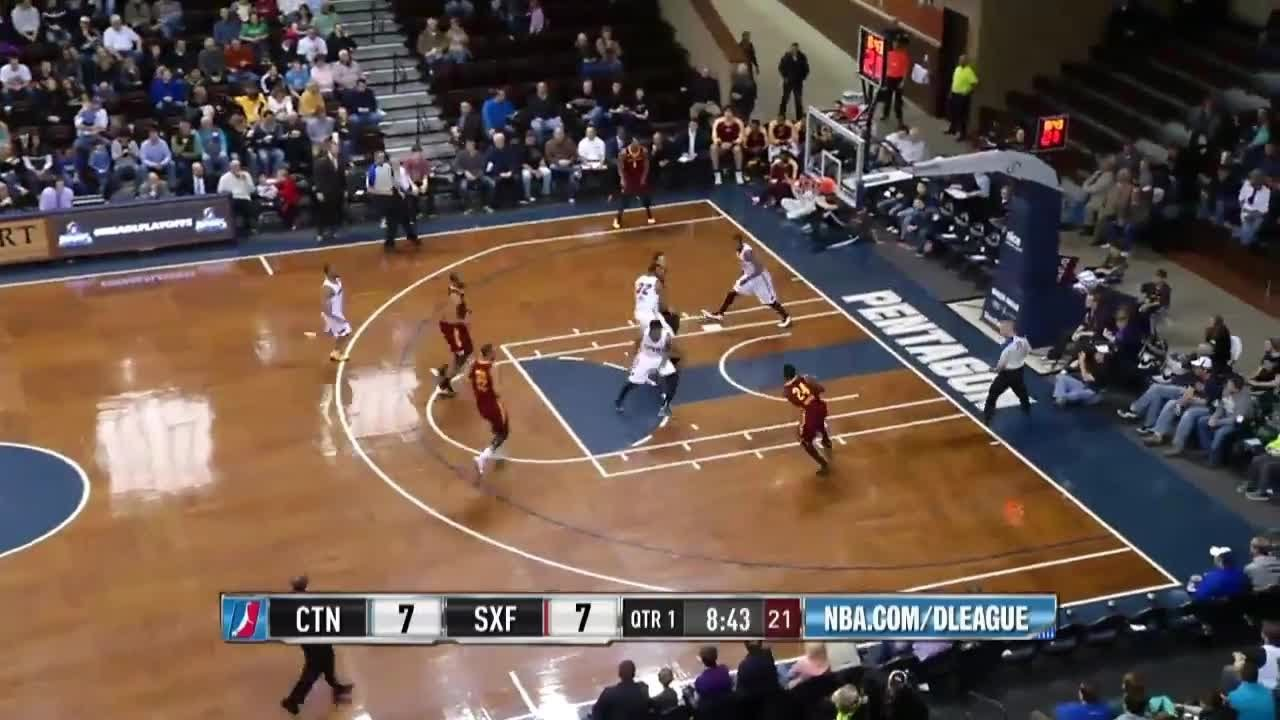 Double-Double (21 pts, 12 ast) of Will Cherry vs. Sioux Falls Skyforce