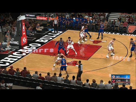 NBA 2K20 - Chicago Bulls vs New York Knicks - Gameplay (PS4 HD) [1080p60FPS]