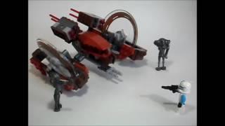 Аналог Lego Star Wars 75085 Hallfire Droid-Колёсный Дроид