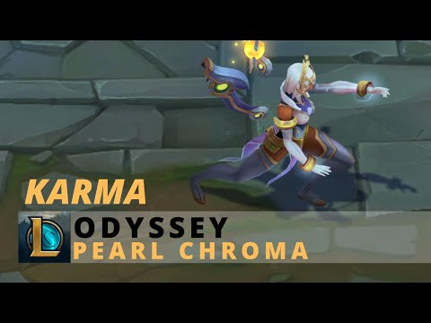 Odyssey Karma Pearl Chroma - League Of Legends