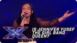 Is Jennifer Yusef the Girl Band QUEEN? | X Factor: The Band | Arena Auditions