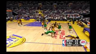 NBA Live 2004 Custom Teams Boston Celtics vs Los Angeles Lakers