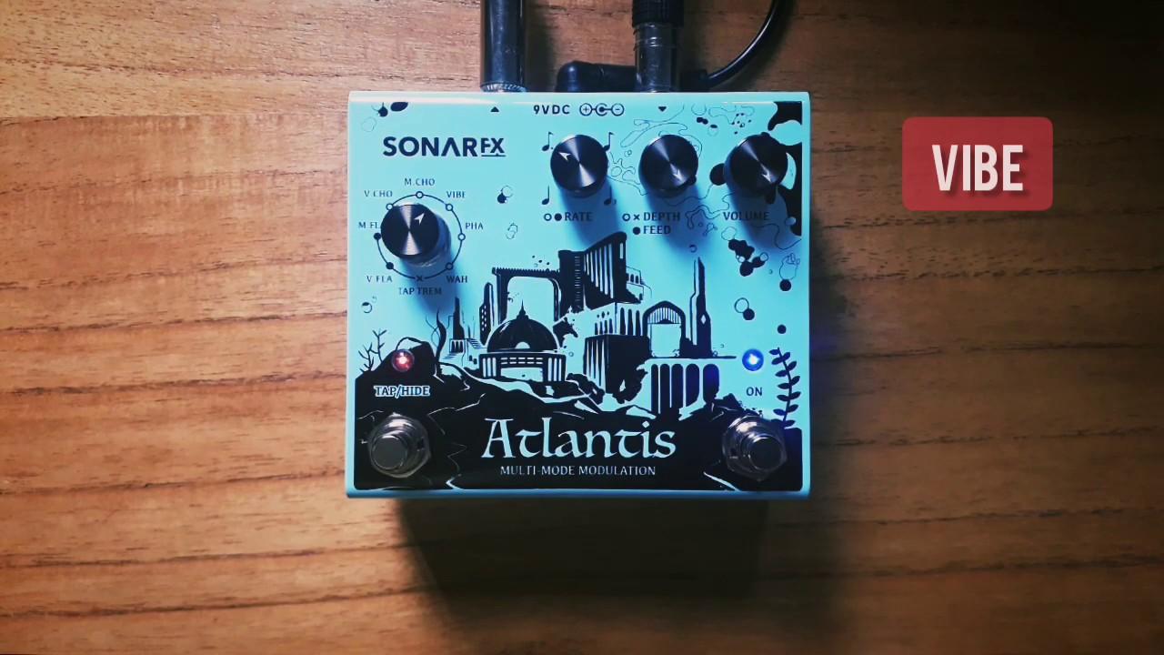 SonAr fx - Atlantis Multimode Modulation - Vibe