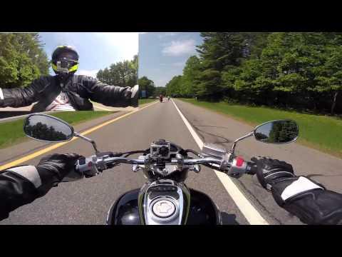 Dbest1a Test Rides a Suzuki M50 at Americade ... Video 1