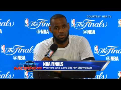Sports This Morning: Warriors, Cavs Set For NBA Finals Showdown