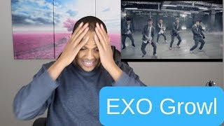 EXO Growl M:V Black Reaction Holy Cow They Can Dance!