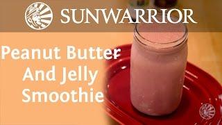 Peanut Butter And Jelly Smoothie | Koya Webb