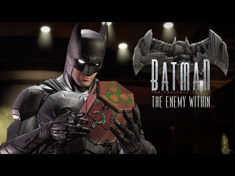 WOW. GOTHAM ACTUALLY GETS WORSE. | Batman: The Enemy Within | Lets Play - Part 1