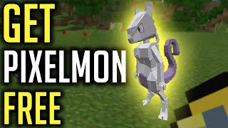 HOW TO GET PIXELMON 1.8.9 FOR FREE *QUICK & EASY*