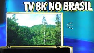 TVS QLED 8K DA SAMSUNG CUSTAM DE 25 A 90 MIL REAIS!