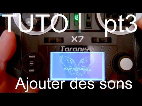 Tuto Taranis QX7 (PT3) : Ajouter des sons, voix, amber soundpack